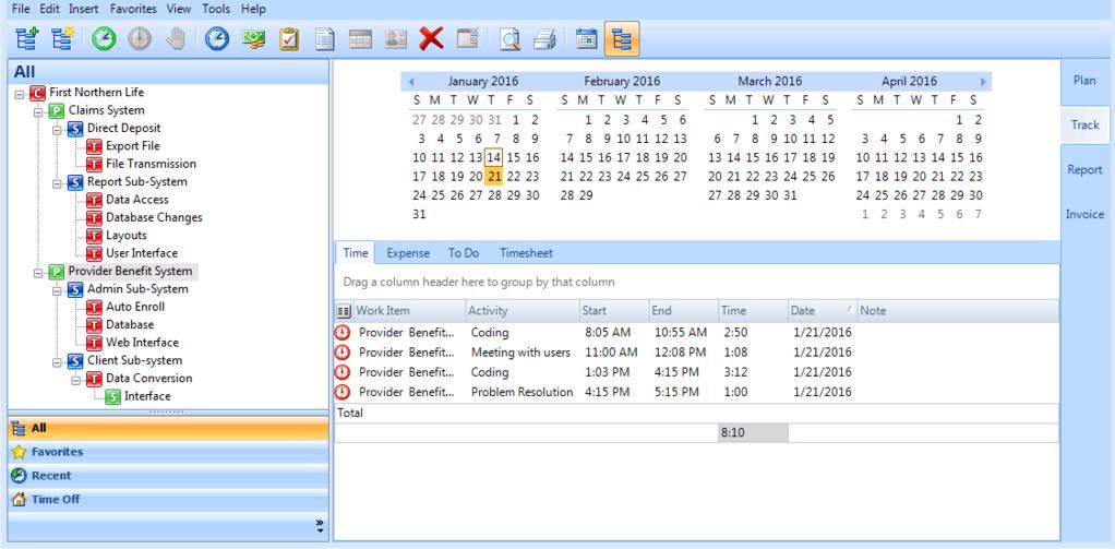 Timeless Time & Expense Screenshot 8