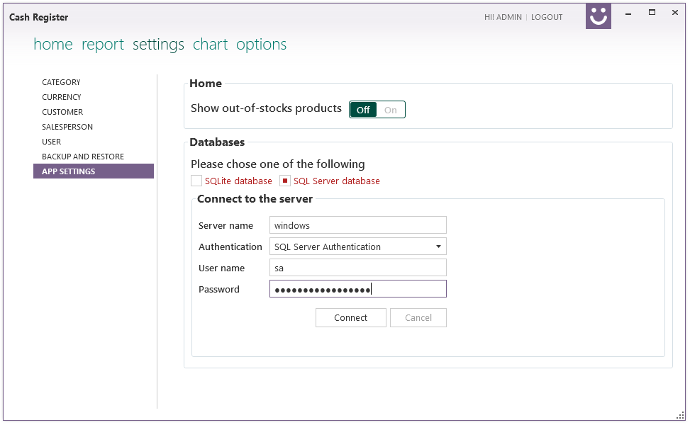 Cash Register Screenshot 2