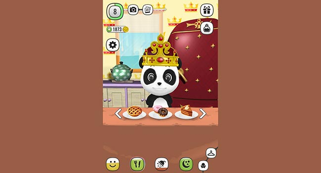 ! My Talking Panda MO - Virtual Pet Screenshot 1