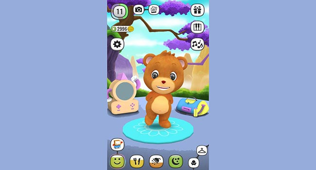 ! My Talking Panda MO - Virtual Pet Screenshot 6