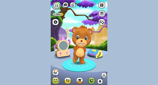 ! My Talking Panda MO - Virtual Pet Screenshot 4