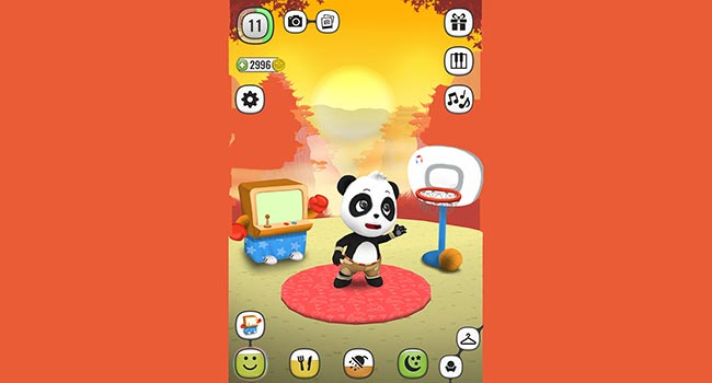 ! My Talking Panda MO - Virtual Pet Screenshot 5