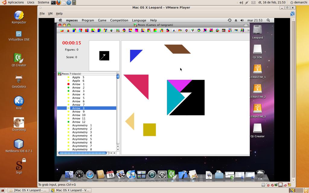Peces (tangram game) Screenshot 2