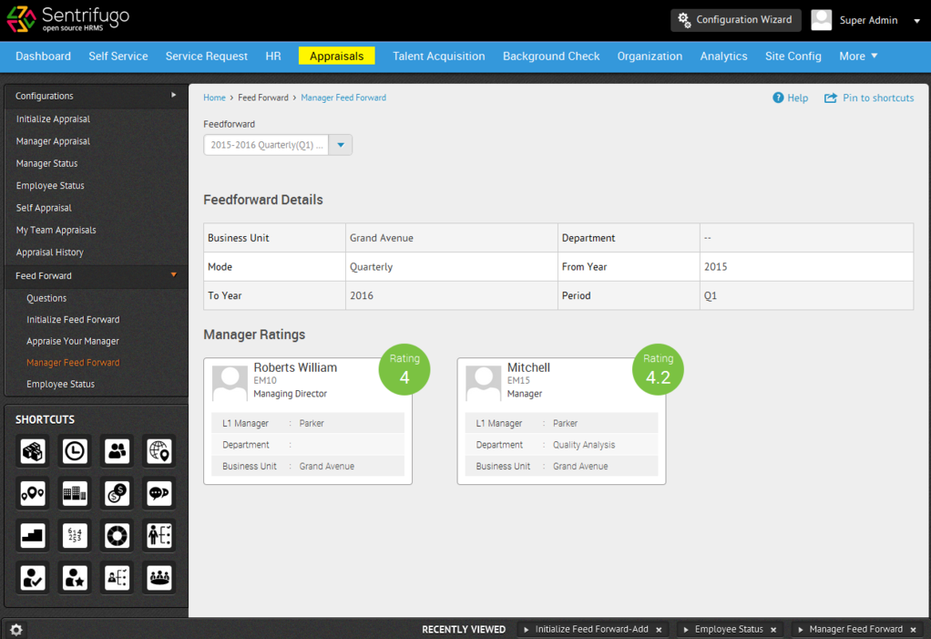 Sentrifugo Opensource HRMS Screenshot 5