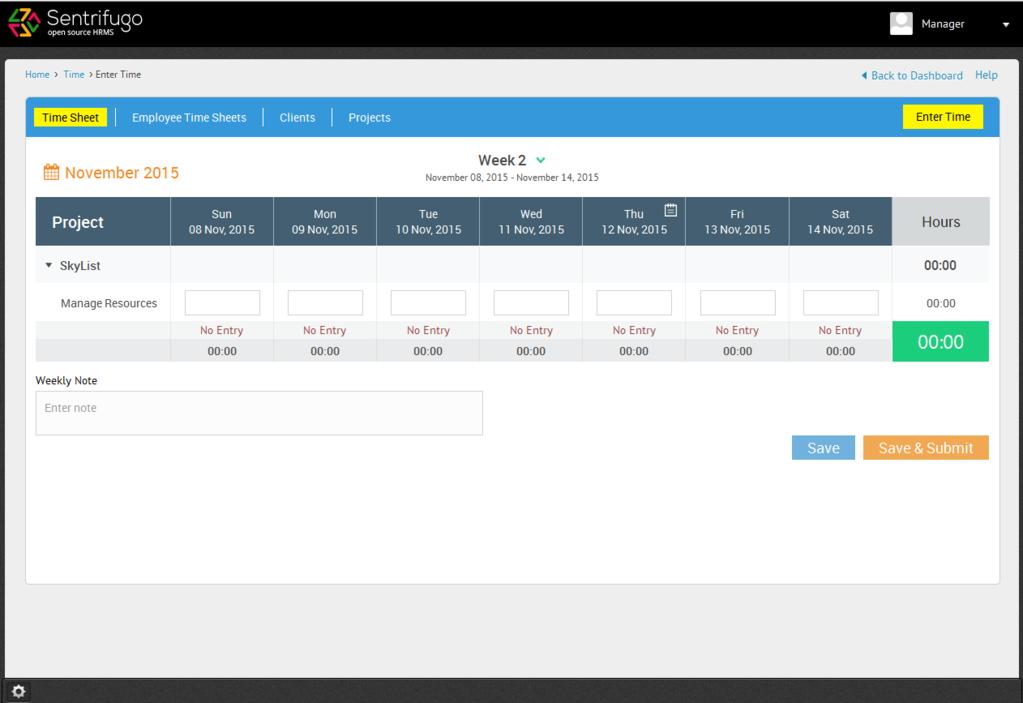 Sentrifugo Opensource HRMS Screenshot 4