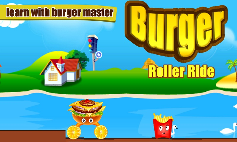 Burger Roller Ride Screenshot