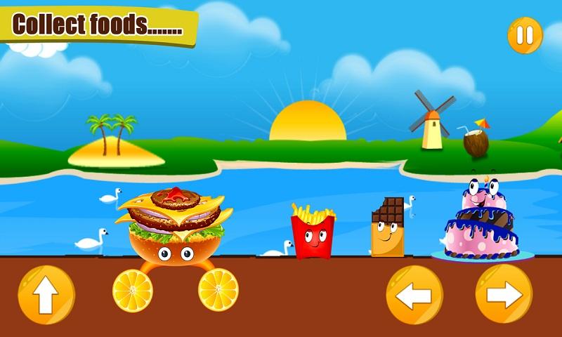Burger Roller Ride Screenshot 2