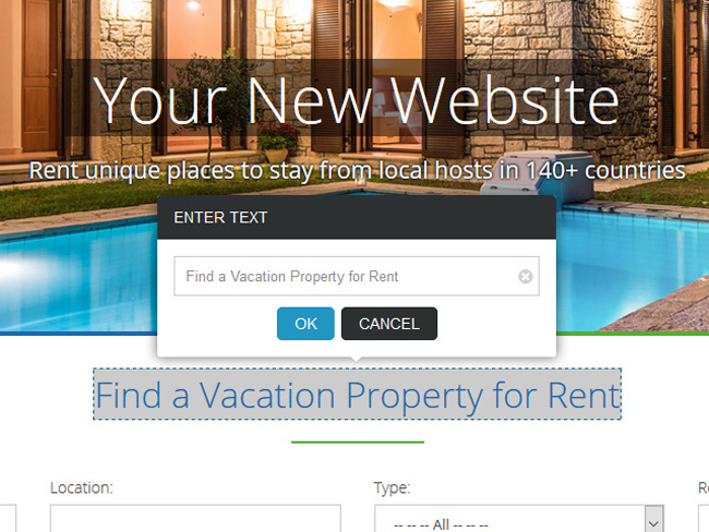 Vacation Rental Website - Vevs.com Screenshot 9