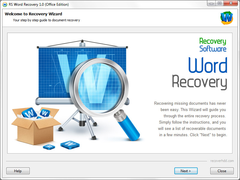 RS Word Recovery Screenshot 6