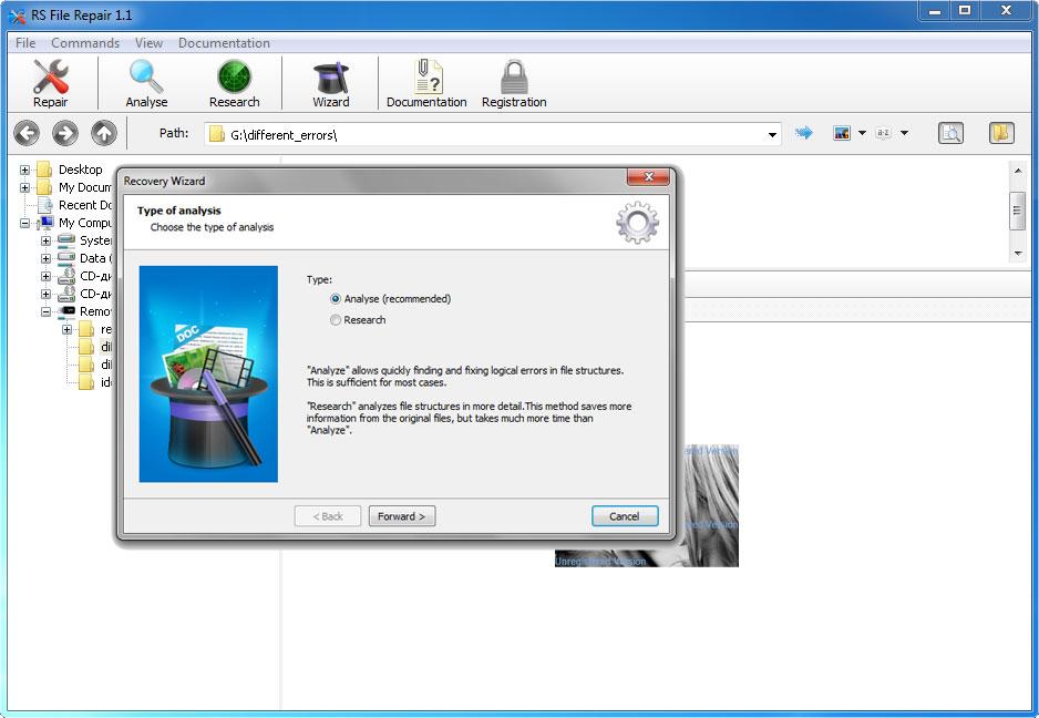 RS File Repair Screenshot 4