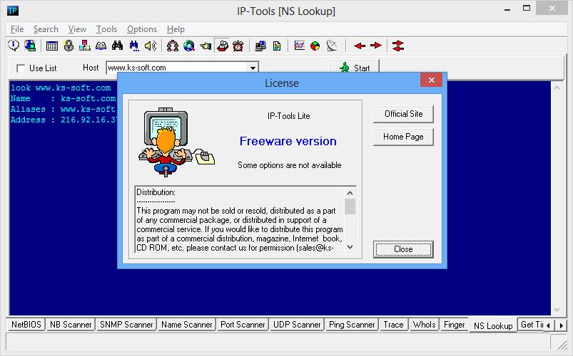 IP-Tools Lite Screenshot 4