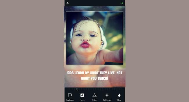 Photo Captions - Insta Square Screenshot