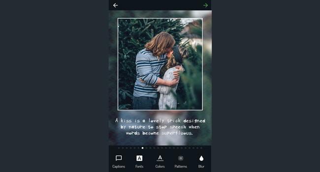 Photo Captions - Insta Square Screenshot 2