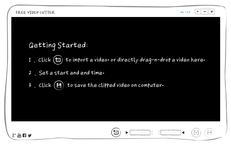 Gihosoft Free Video Cutter Screenshot