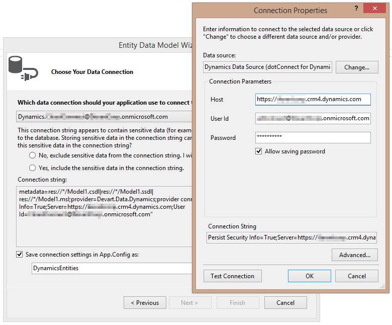 dotConnect for Dynamics CRM Screenshot 1