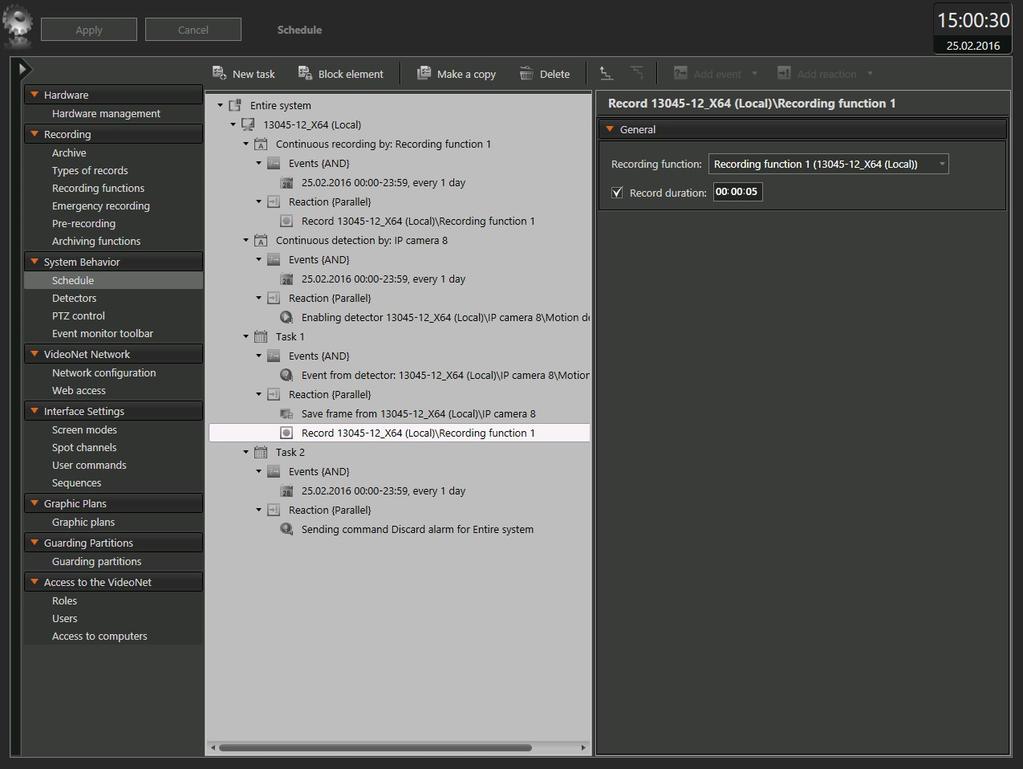 VideoNet 9 Prime Server Screenshot 5