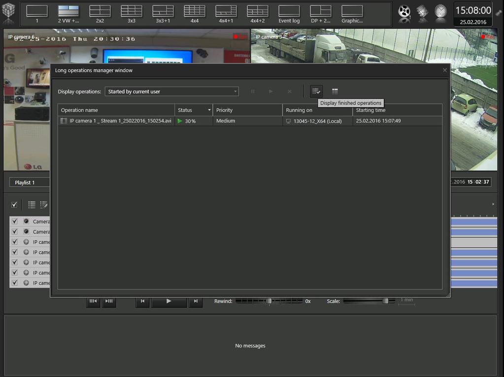 VideoNet 9 Prime Client Screenshot 10