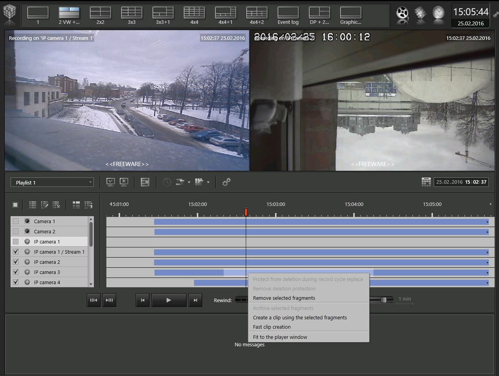 VideoNet 9 Prime Client Screenshot 8