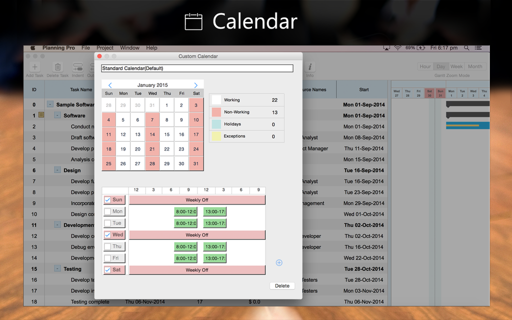 Project Planning Pro Screenshot 2
