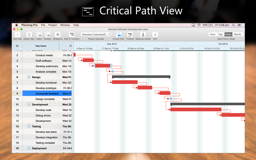 Project Planning Pro Screenshot 4