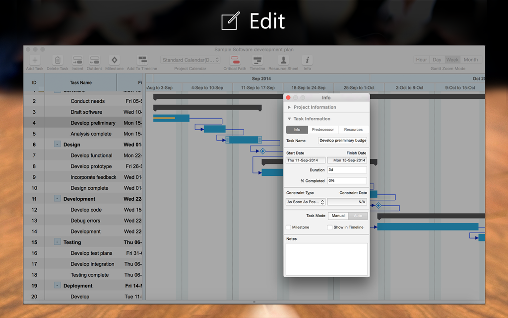 Project Planning Pro Screenshot 5