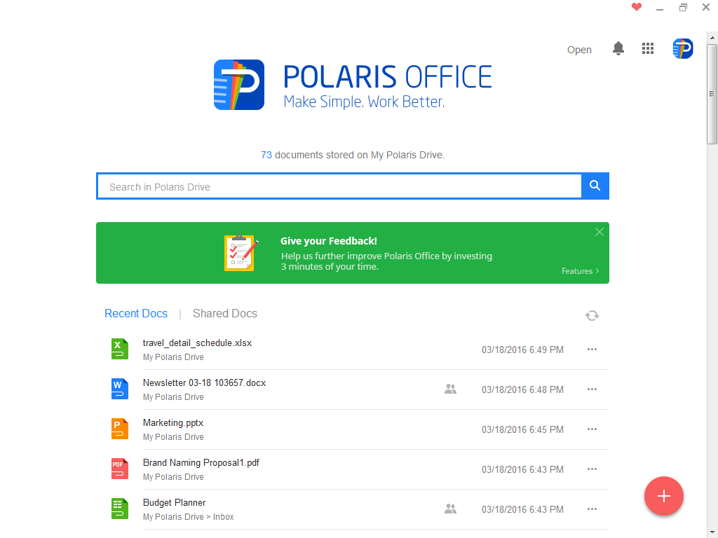 Polaris Office Screenshot 9