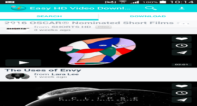 Easy HD Video Downloader Screenshot 2
