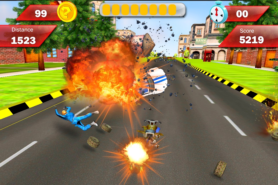 Modern Armored : Bike Attack Screenshot