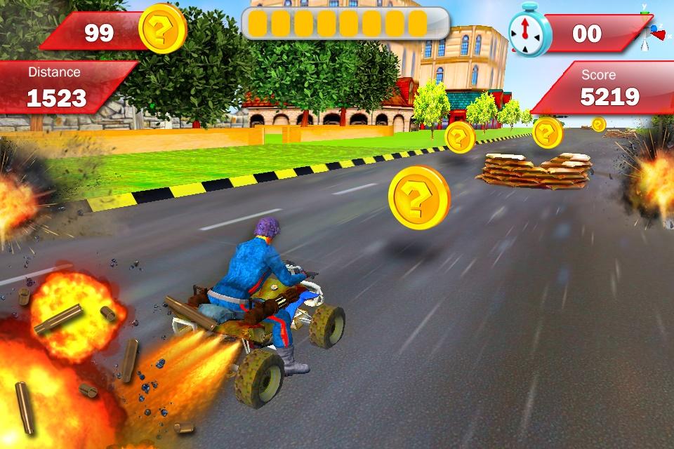 Modern Armored : Bike Attack Screenshot 2