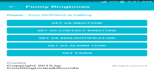 Funny ringtones Screenshot 2