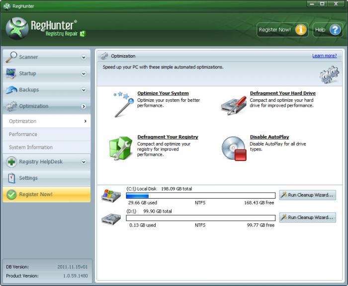 Registry Repair Tool Screenshot 3