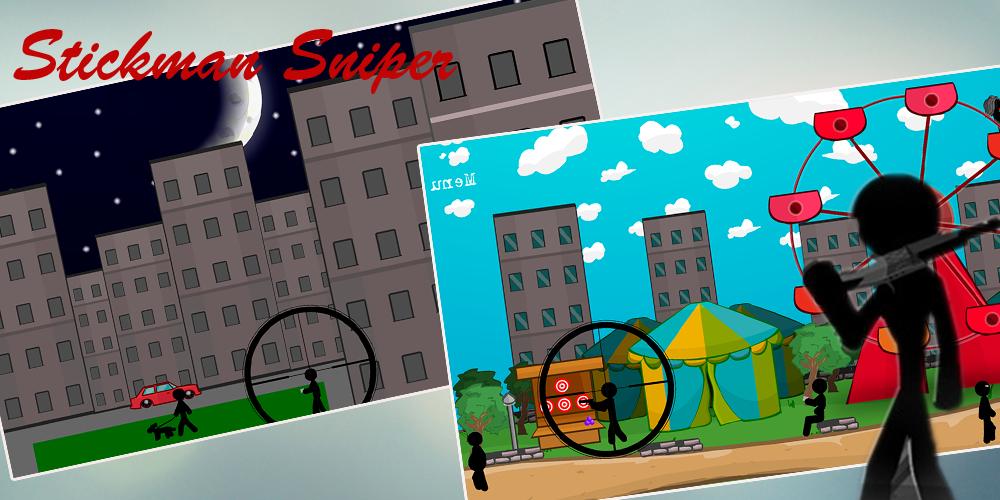 Stickman Sniper Shooter free Screenshot 2