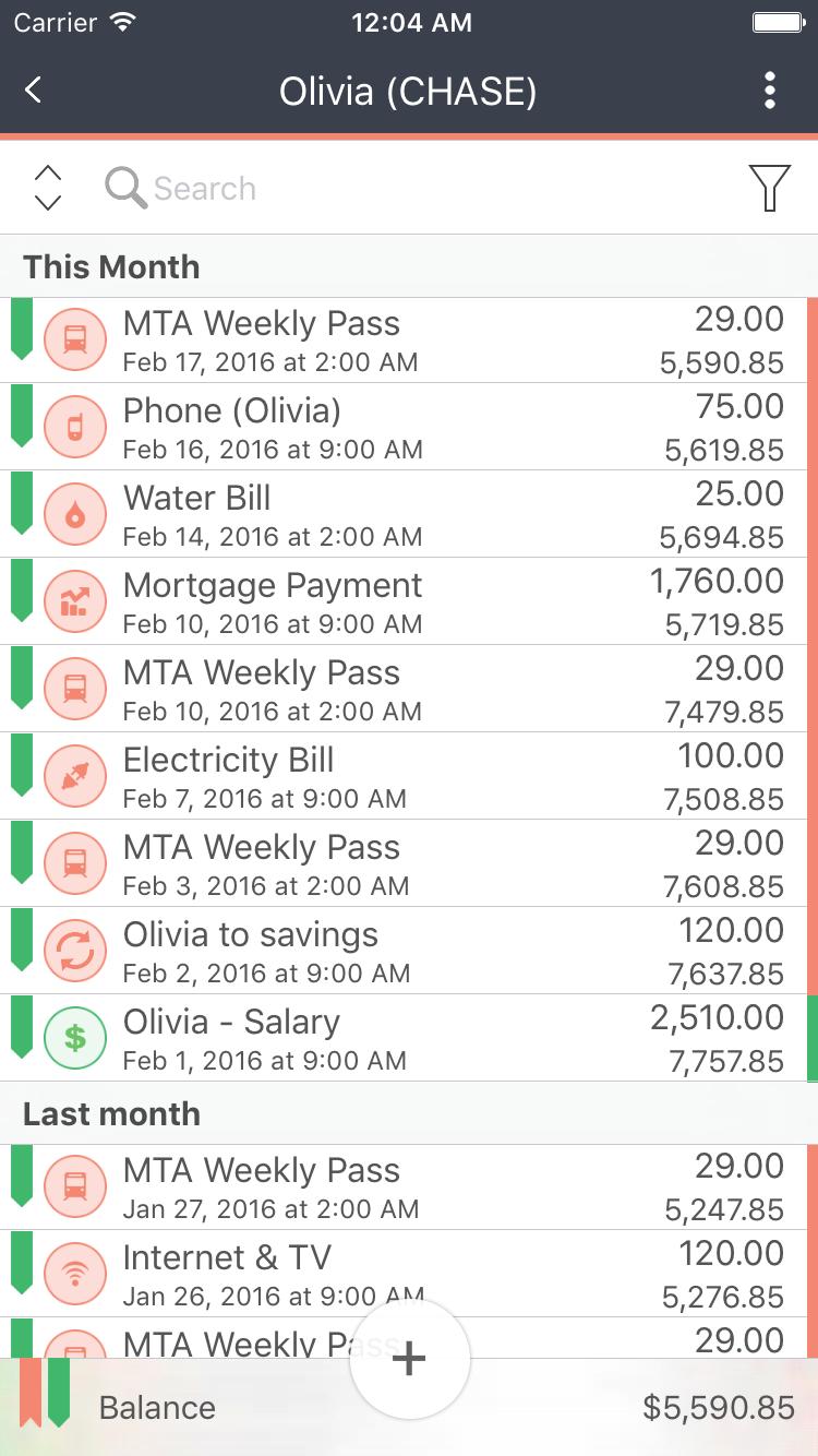 MoneyWiz - Personal Finance Screenshot 23