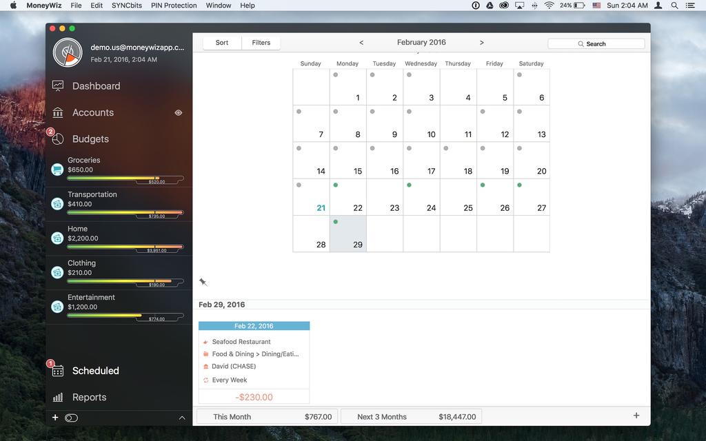 MoneyWiz - Personal Finance Screenshot 11