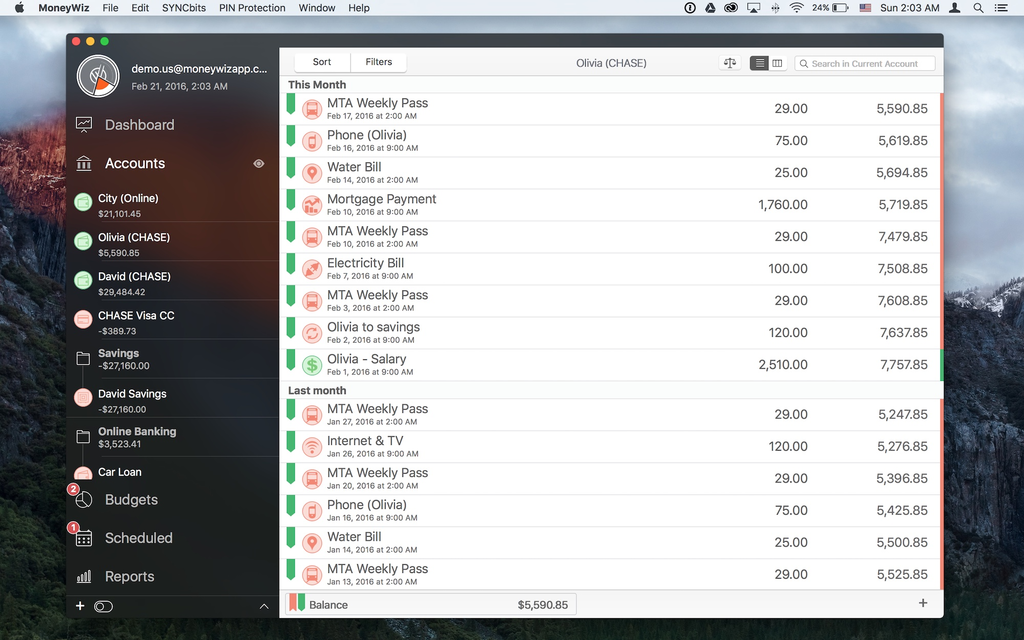 MoneyWiz - Personal Finance Screenshot 9