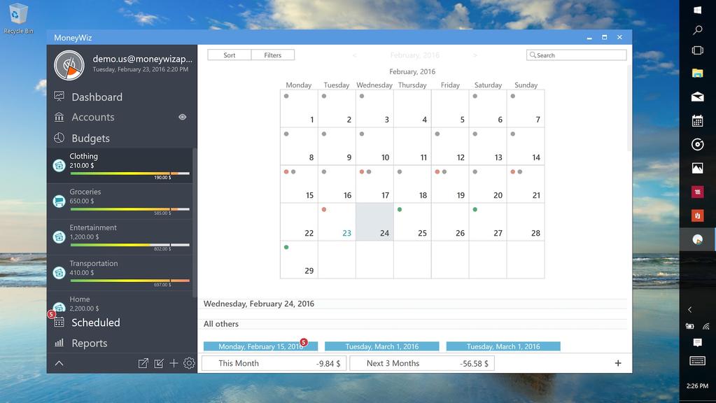 MoneyWiz - Personal Finance Screenshot 3