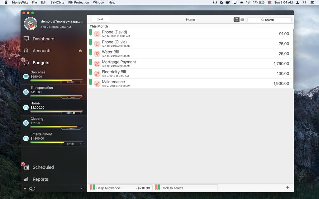 MoneyWiz - Personal Finance Screenshot 10
