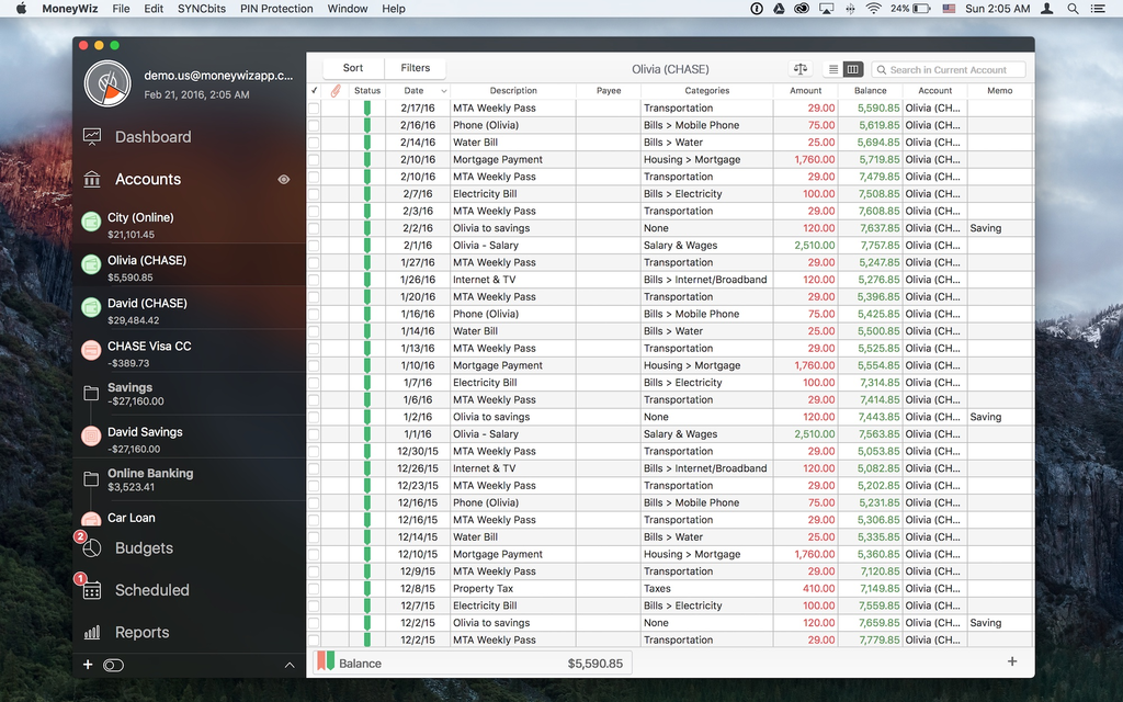 MoneyWiz - Personal Finance Screenshot 15