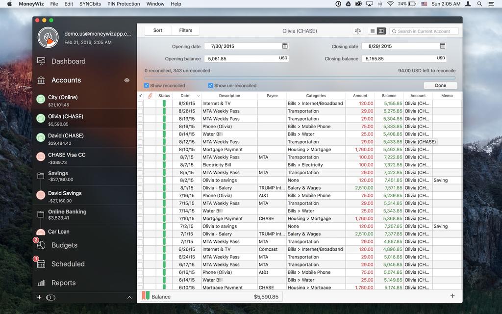 MoneyWiz - Personal Finance Screenshot 16