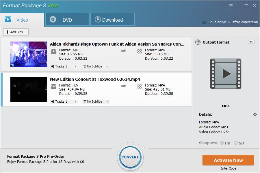 Format Package Screenshot 3