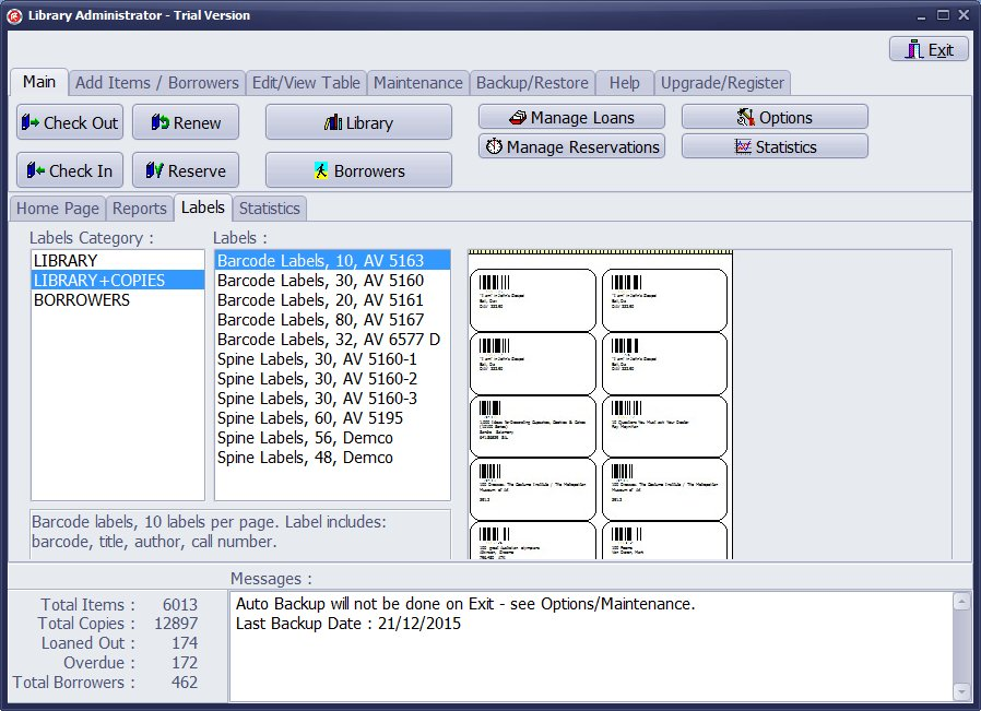 Handy Library Manager Screenshot 4
