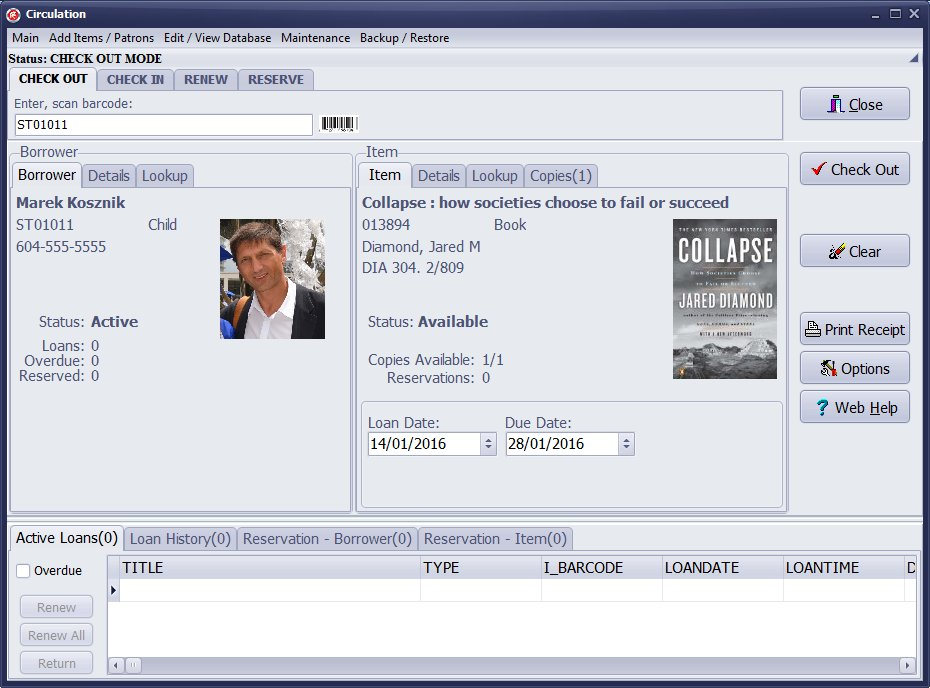 Handy Library Manager Screenshot 2