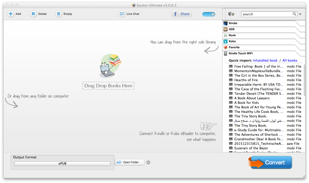 Epubor Ultimate Screenshot 2