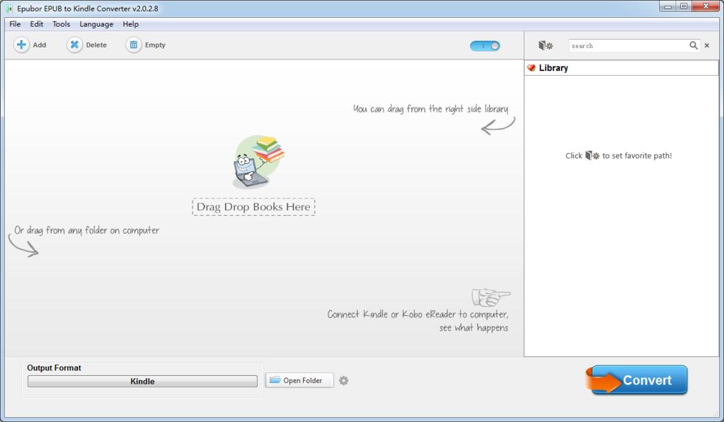 Epubor ePUB to Kindle Converter Screenshot 2