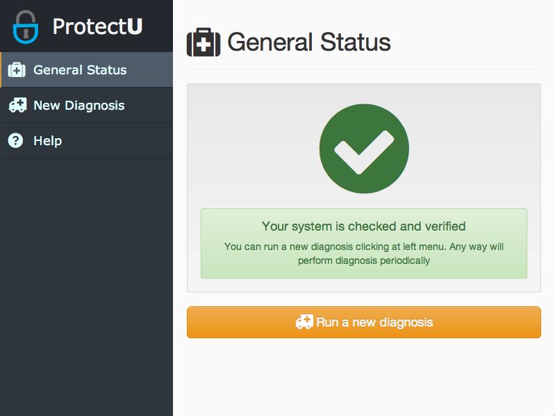ProtectU Screenshot 2