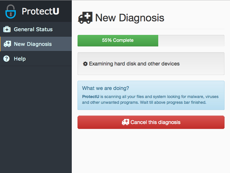 ProtectU Screenshot