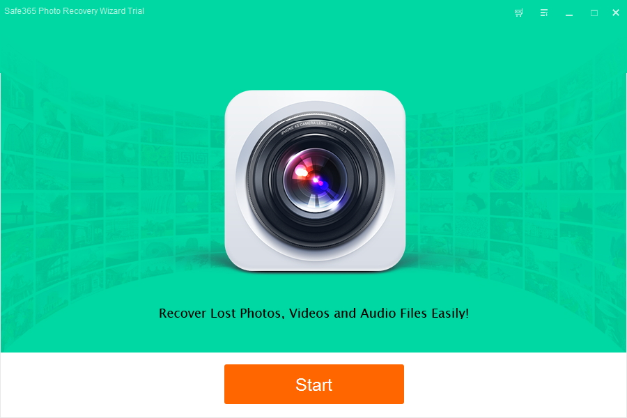 Safe365 Photo Recovery Wizard Screenshot