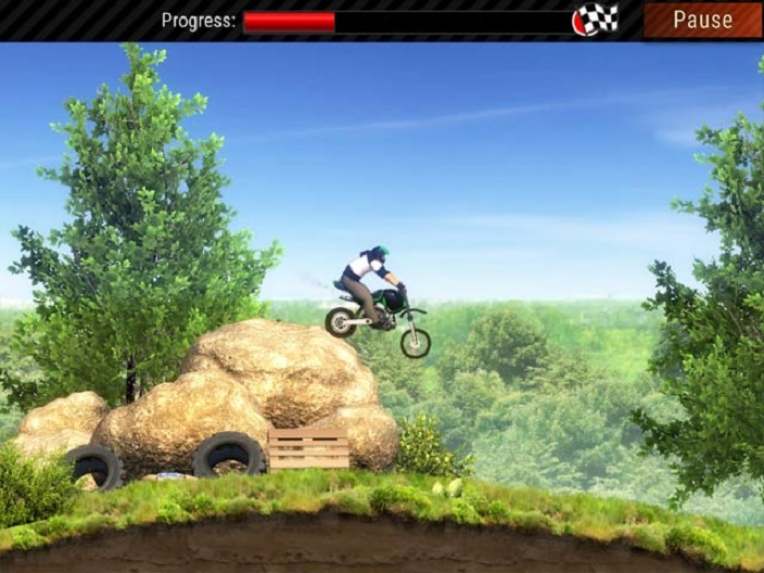 Extreme Bike Trials Screenshot