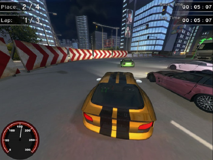 Supercars Racing Screenshot