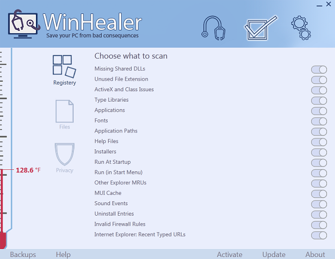 WinHealer Screenshot 2